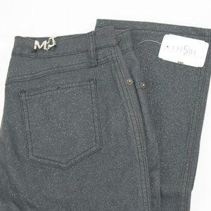 Moschino Stretch Jeans 29 Gray Straight Leg NEW